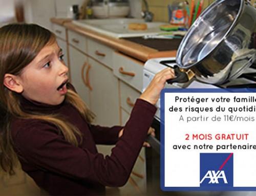 Protégez votre famille, 2 mois gratuit de GAV avec notre partenaire AXA